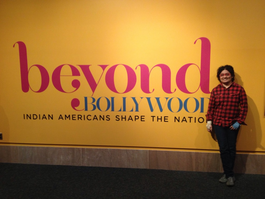 Prerna Lal at the Beyond Bollywood Exhibit